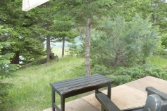 Cabin #4, view from deck