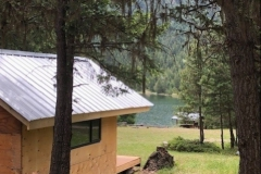 Cabin #1 , view of lake from cabin 1