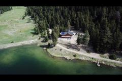 Lodge and runway